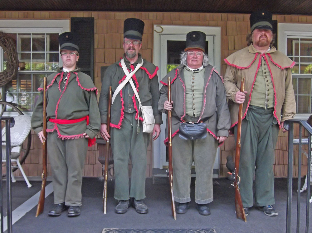 Asquith Sharp Shooters, Maryland Militia, War of 1812